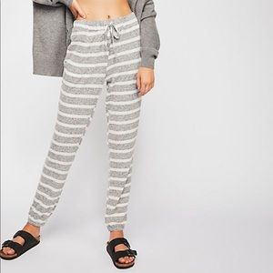 Free people good for cuddles jogger